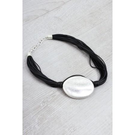Eliza Gracious Ballarat Short Necklace - Black