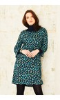 Adini Navy/Teal Tsavo Burnout Tsavo Dress