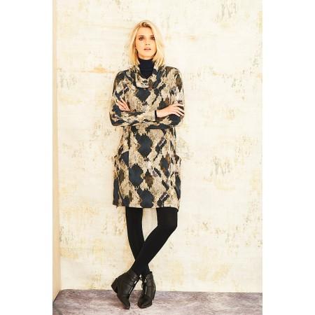 Adini Driftwood Print Isabella Tunic - Grey
