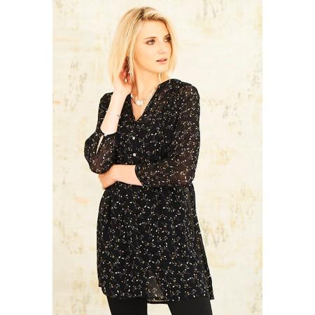 Adini Lumiere Print Belle Tunic - Black