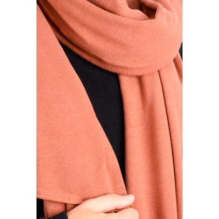 Mama B Segovia Knitted Plain Scarf - Brown