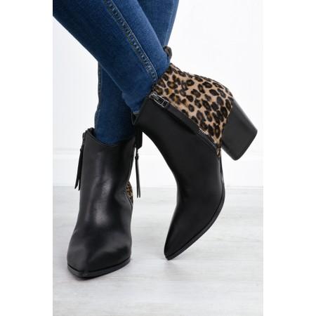 Kennel Und Schmenger Amber Leo Ankle Boot - Black