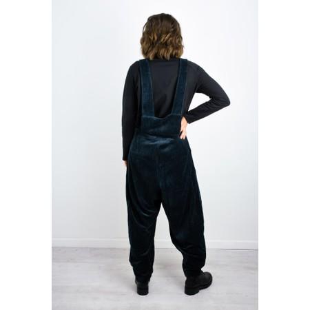 Mama B Urgada Cord Jumpsuit - Blue