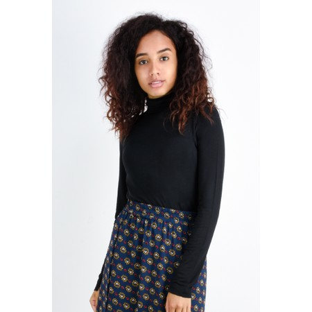 French Connection Venetia Jersey Top - Black