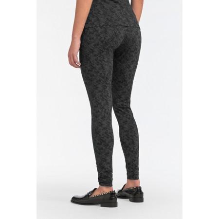 Sandwich Clothing Animal Print Leggings - Grey