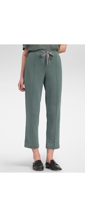 Sandwich Clothing High Waisted Jersey Trousers Thyme
