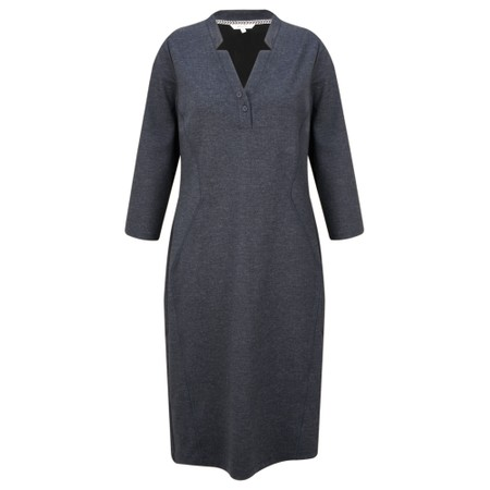 Sandwich Clothing Denim Look Jersey Dress - Blue