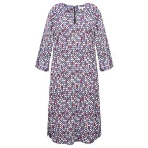 Sandwich Clothing Herringbone Print Dress