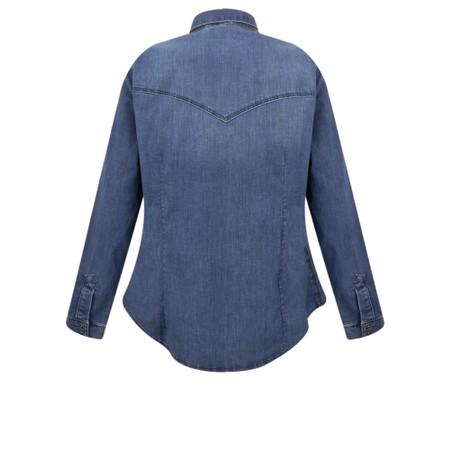Sandwich Clothing Classic Denim Shirt - Blue