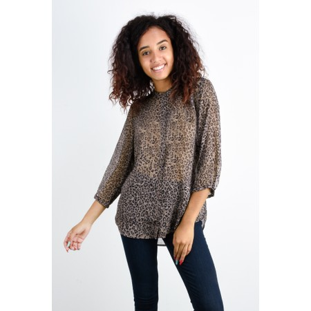 French Connection Brunella Crinkle Shirt - Multicoloured