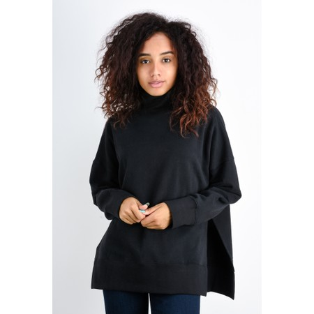 French Connection Sunday Fleece Lined Jumper - Black