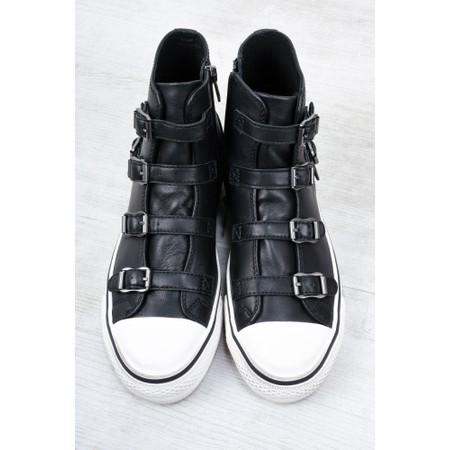 Ash Virgin High Top Trainers  - Black