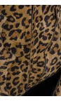Ash Tan Leopard Esquire Leopard Print Heeled Boot