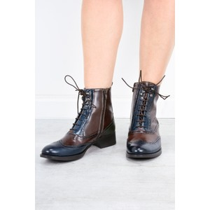 Luis Gonzalo Cordelia Lace Up Ankle Boot