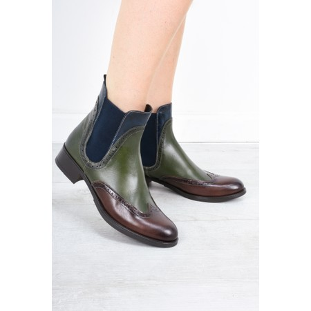 Luis Gonzalo Camilla Chelsea Boot - Multicoloured