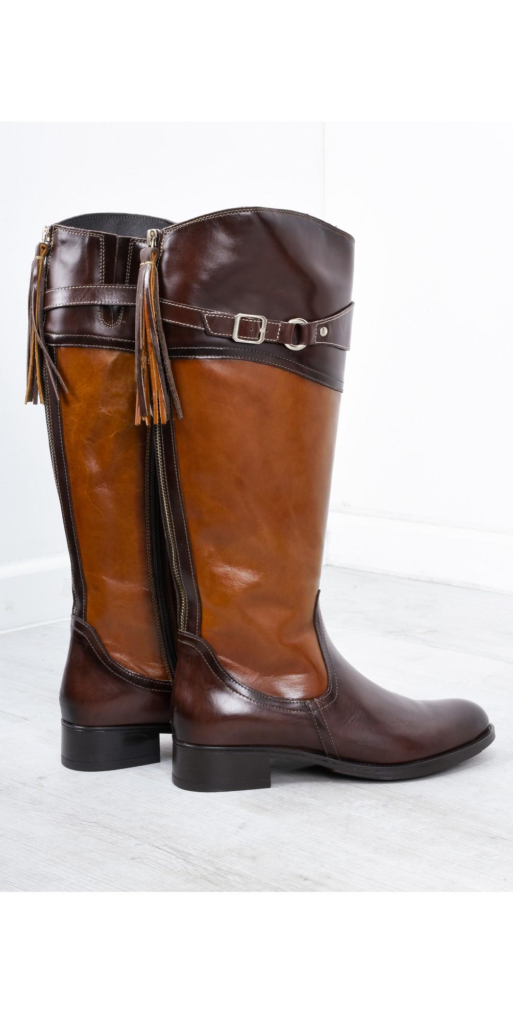 Isla Long Buckle Boot main image