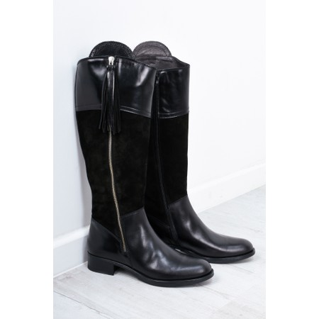 Luis Gonzalo Beatrice Long Gaucho Boot - Black