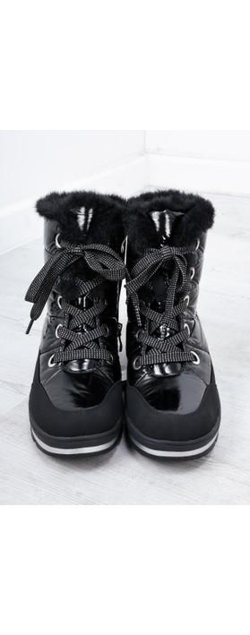 Caprice Footwear Wanda Nordic Ankle Snow Boot Black Combi