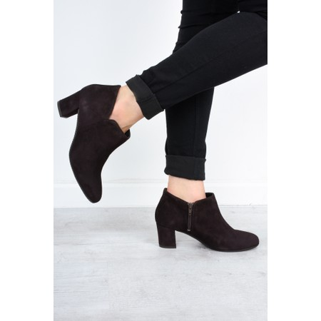 Gemini Label  Isco Suede Ankle Boot - Brown