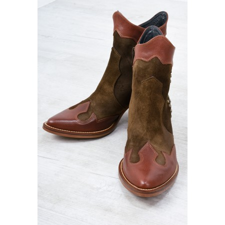 Kanna Baby Western Boot  - Brown