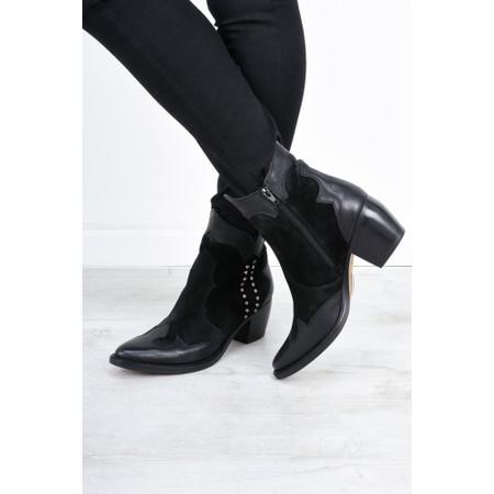 Kanna Baby Western Boot  - Black