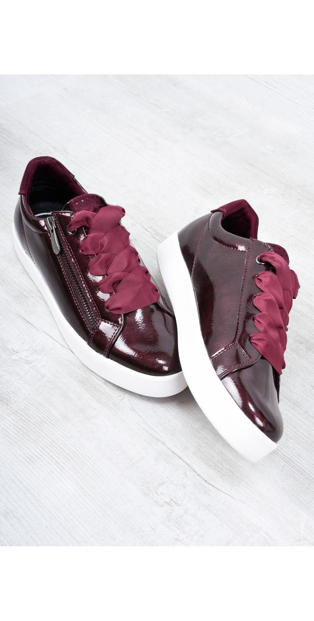 Durlo Patent Trainer Shoe main image