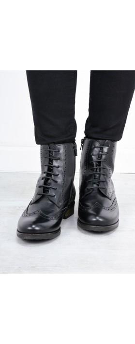 Tamaris  Cairo Brogue Nancy Boot  Black