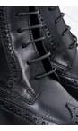 Tamaris  Black Cairo Brogue Nancy Boot