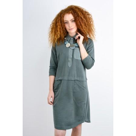 Sandwich Clothing Layered Jersey Dress - Green