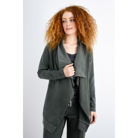 Sandwich Clothing Waterfall Jersey Jacket  - Grey