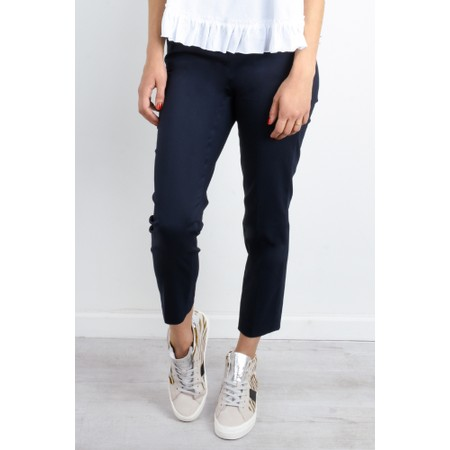 Robell  Patricia 7/8 Tailored Cropped Trouser - Blue