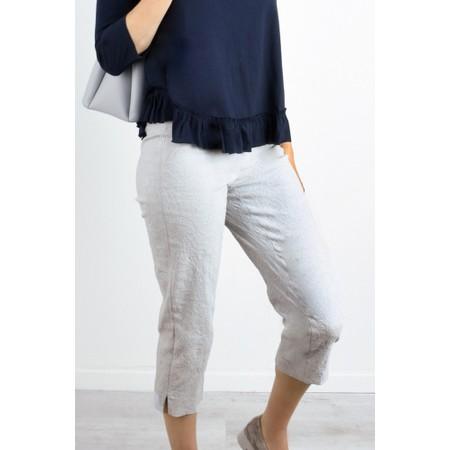 Robell  Marie 07 Jacquard Trouser - Blue