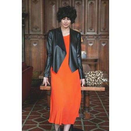 Masai Clothing Unni Dress - Orange