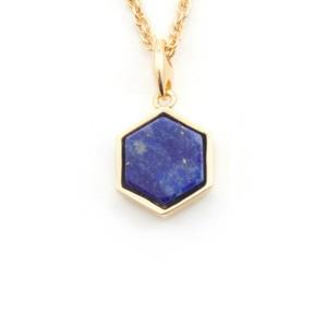 Bill Skinner Filigree Mini Hexagon Pendant Necklace