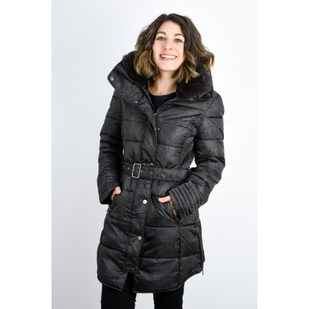 RINO AND PELLE Blush Quilted Coat  - Grey