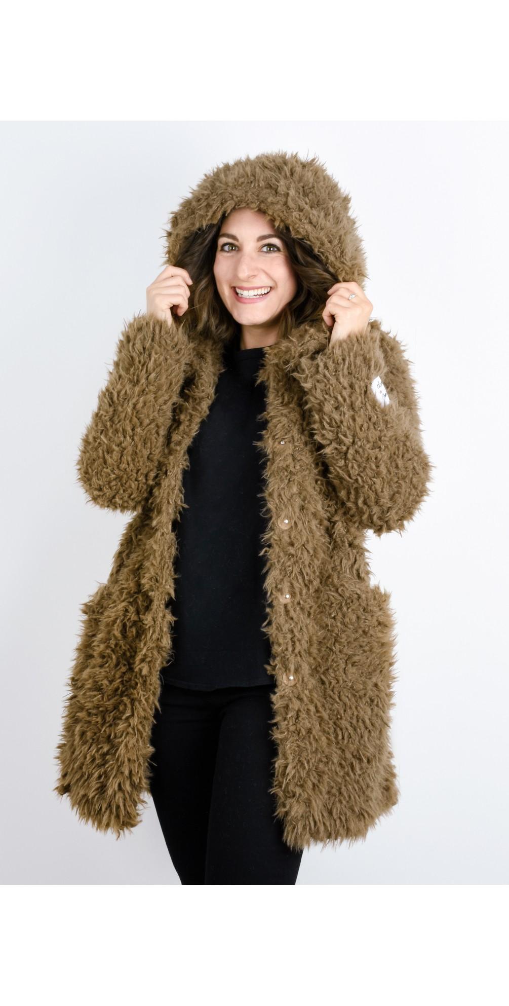 Welda Shaggy Faux Fur Jacket main image