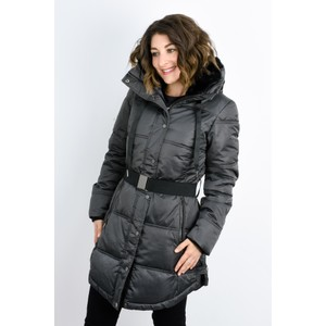 RINO AND PELLE Addison Faux Fur Collar Puffa Coat