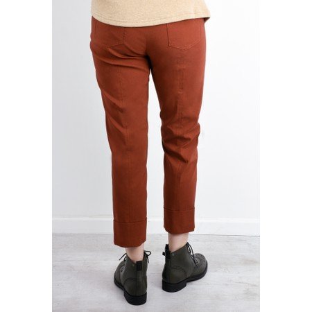 Robell  Bella 09 Ankle Length 7/8 Cuff Trouser - Orange