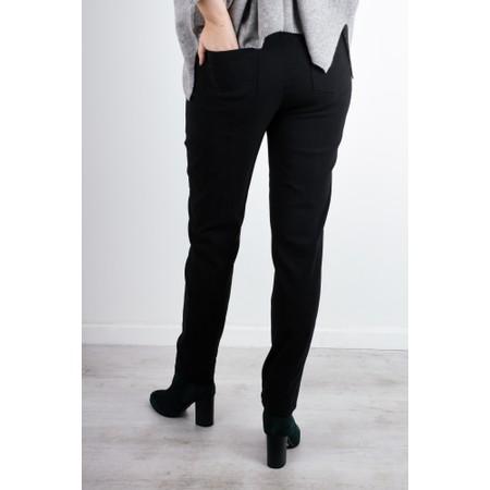 Robell  Bella 78cm Slim Full Length Trouser - Black