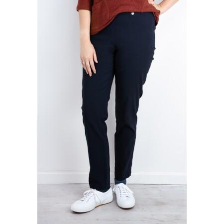 Robell  Bella 78cm Slim Full Length Trouser - Blue