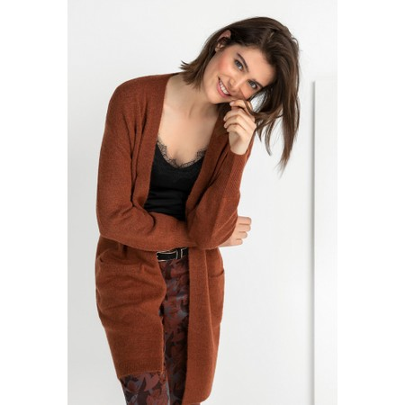 Expresso Jenny Cardigan - Brown
