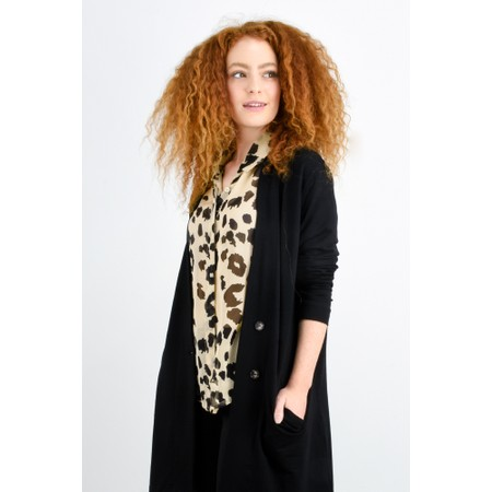 Masai Clothing Leva Leopard Print Blouse - Multicoloured