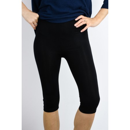 Thing Bamboo Cropped Legging - Black