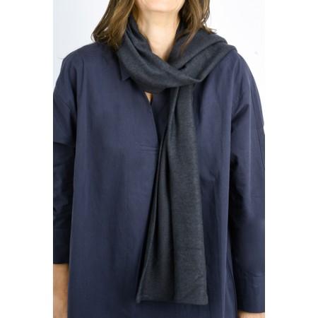 Thing Long Soft Knit Scarf - Grey