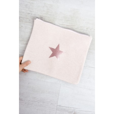 Chalk Belinda Star Bag Large - Pink