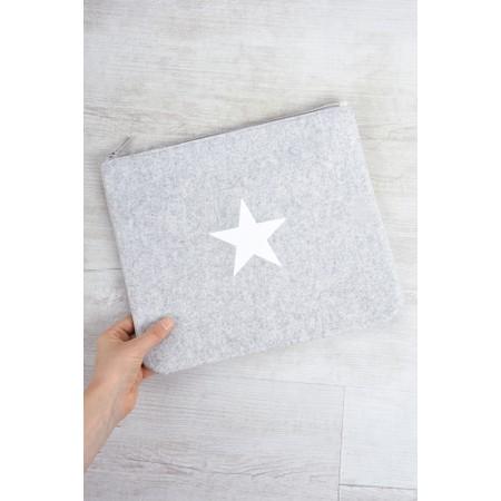 Chalk Belinda Star Bag Large - White