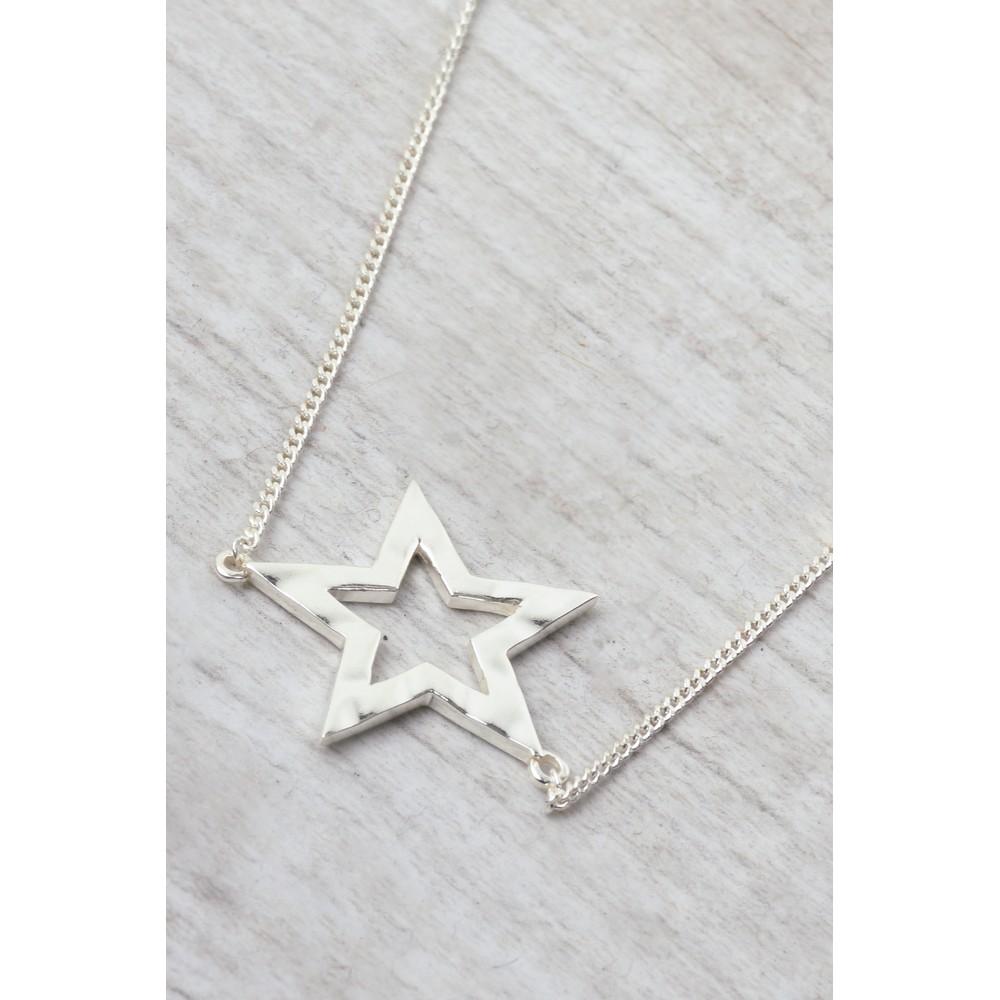 Tutti&Co Astrid Star Necklace Silver
