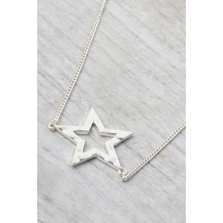Tutti&Co Astrid Star Necklace - Metallic