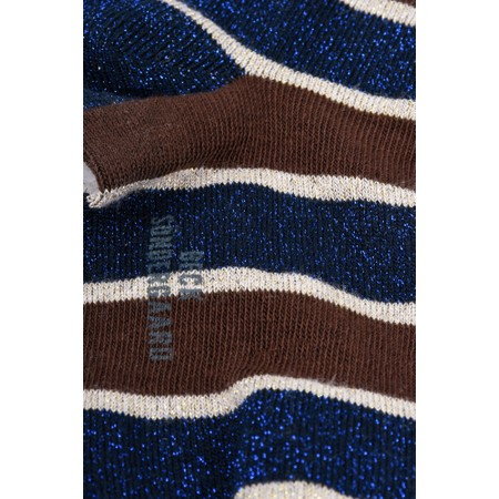 BeckSondergaard Dory Stripe Socks - Brown