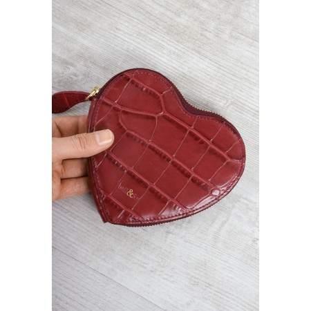 Bell & Fox Cupid Heart Shaped Purse - Red